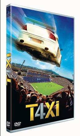 Taxi 4, en dvd le 14 Août 2007
