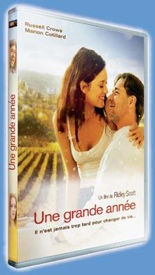 Une Grande Année en DVD le 22 Août 2007