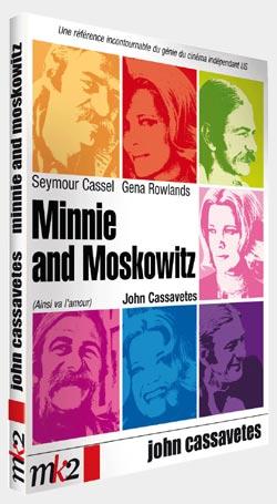 Miinnie et Moskowitz de John Cassavetes en DVD le 26 Septembre