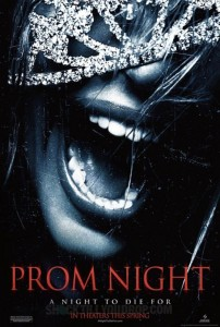 Prom Night, the remake : l'affiche