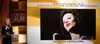 Marion Cotillard sacré