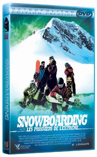 Snowboarding, des sensations fortes en DVD