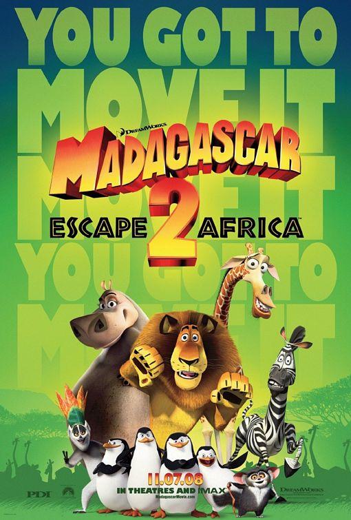 Madagascar 2, on prend les mêmes et on recommence