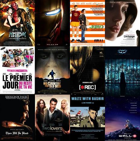 Election du film de l'année 2008