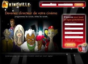 kinoville, un jeu en ligne sur le cinma
