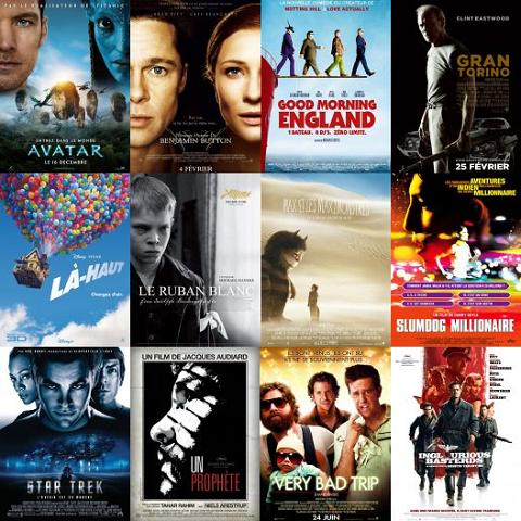 Palmarès cinéma 2009: le vote final!