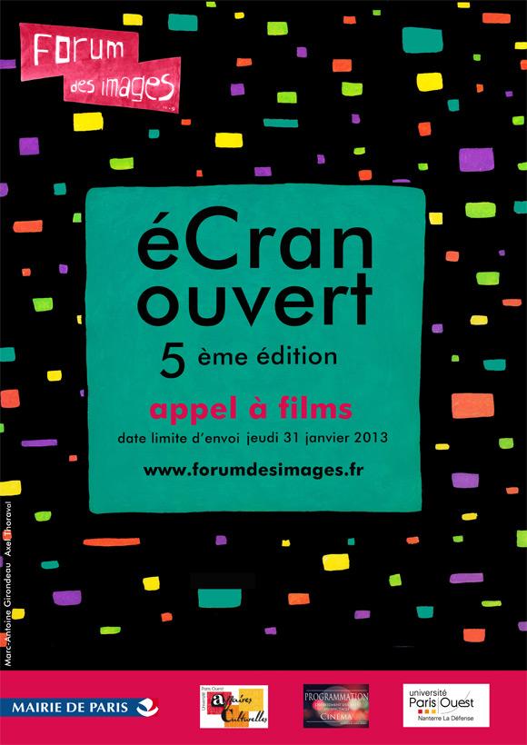 Appel à films pour le festival Ecran Ouvert