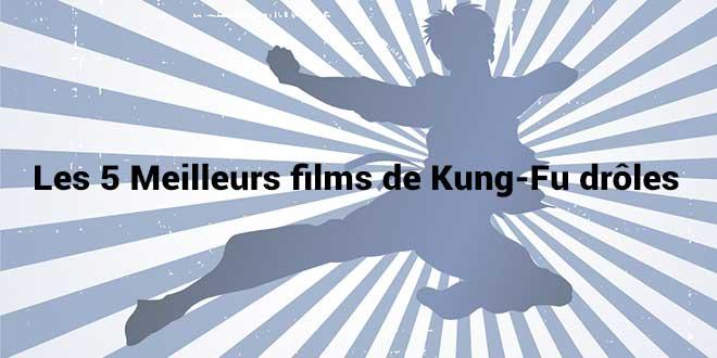 Les 5 meilleurs films de Kung fu drôles